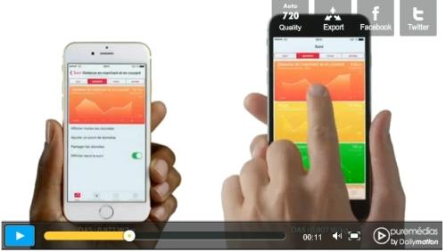 iPhone 6 et la santé