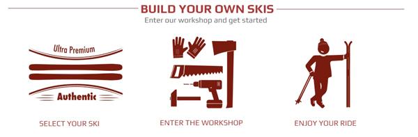 personnalisez vos skis